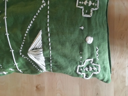 green pillow 6